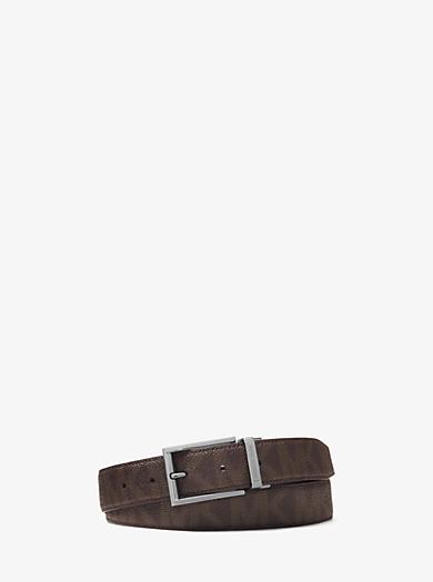 Reversible Logo Belt by Michael Kors