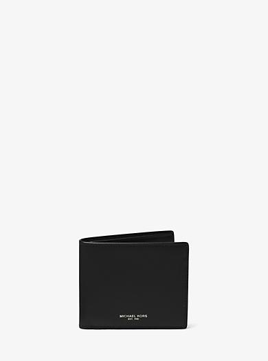 Harrison Leather ID Billfold Wallet          by Michael Kors