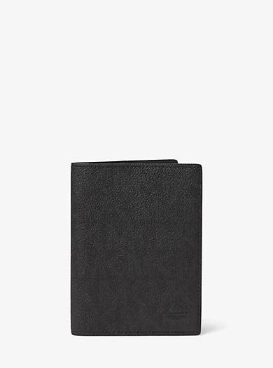Porta passaporto Jet Set con logo by Michael Kors