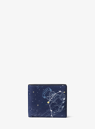 Brieftasche Aries aus Leder by Michael Kors