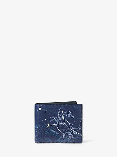 Brieftasche Cancer aus Leder by Michael Kors