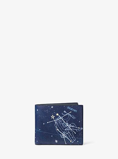Brieftasche Gemini aus Leder by Michael Kors