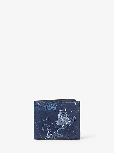 Brieftasche Leo aus Leder by Michael Kors