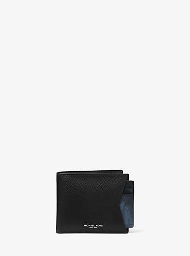 Brieftasche und Kartenetui aus Leder mit Tarnmuster im Set by Michael Kors