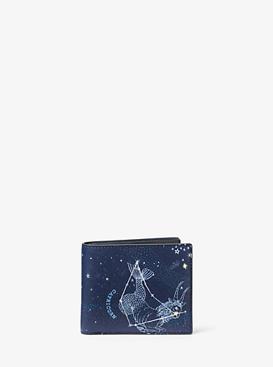 Brieftasche Capricorn aus Leder by Michael Kors