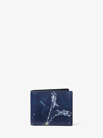 Brieftasche Pisces aus Leder by Michael Kors