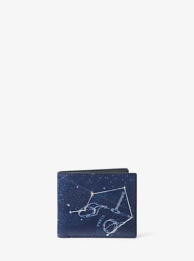 Brieftasche Libra aus Leder by Michael Kors