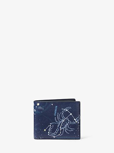 Brieftasche Scorpio aus Leder by Michael Kors