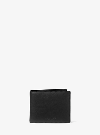 Schmale Brieftasche Odin aus Leder by Michael Kors