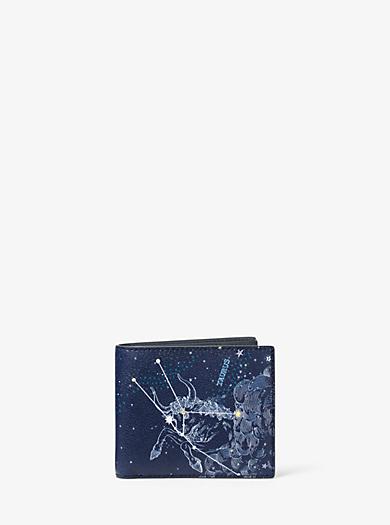 Brieftasche Taurus aus Leder by Michael Kors