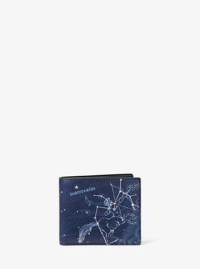 Brieftasche Sagittarius aus Leder by Michael Kors