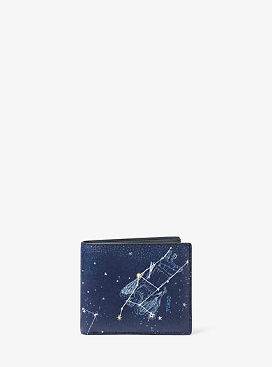 Brieftasche Virgo aus Leder by Michael Kors