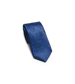 Patterned Woven-Silk Tie