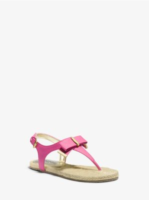 Girl's Perry Bow-Embellished Sandal, Big Kid by Michael Kors