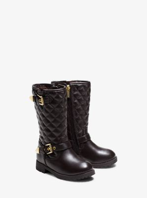 Girl's Dhalia Quilted Boot, Toddler by Michael Kors