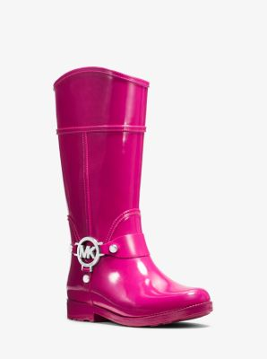 Girl's Brea Rubber Rain Boot, Toddler by Michael Kors