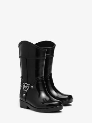 Girl's Fulton Rubber Rain Boot, Toddler by Michael Kors