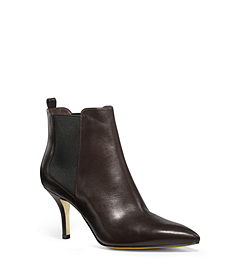 Asbury Leather Ankle Boots