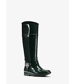 Fulton Logo Rubber Rain Boot by Michael Kors