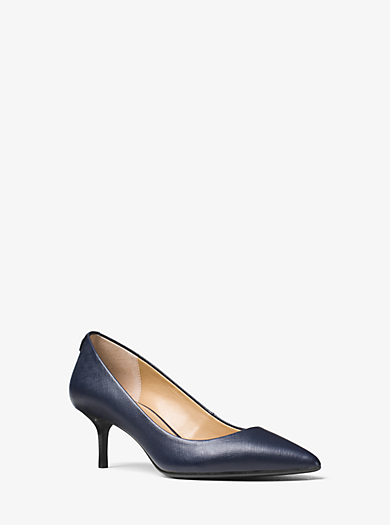 Flex Saffiano Leather Pump by Michael Kors