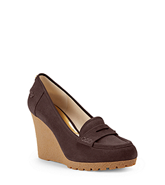 Rory Suede Wedge Loafer