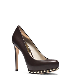 Ailee Studded Leather Pump