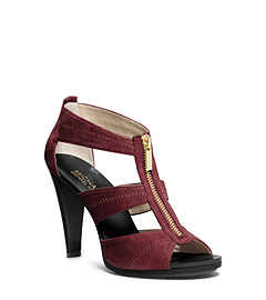 Berkley Suede T-Strap Sandal