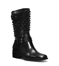 Bryn Studded Leather Boot