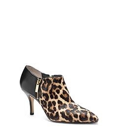 Clara Leopard Hair Calf Ankle Boot