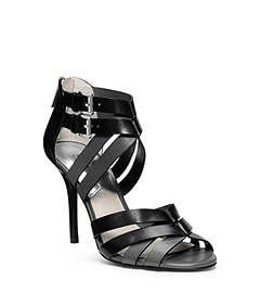 Camie Open-Toe Leather Sandal