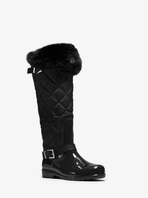 Fulton Quilted Rain Boot by Michael Kors