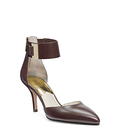 Guiliana Leather Ankle-Strap Pump