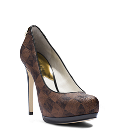 Hamilton Checkerboard Leather Pump