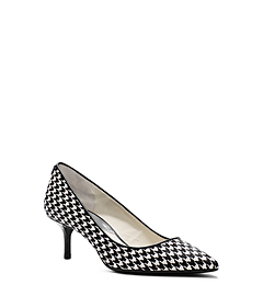 Flex Houndstooth Hair Calf Pump