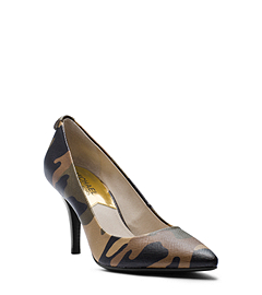 Flex Camouflage Leather Pump