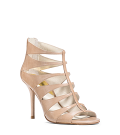 Mavis Open-Toe Leather Sandal
