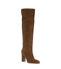 Regina Suede Over-The-Knee Boot