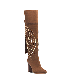 Reena Studded Suede Boot