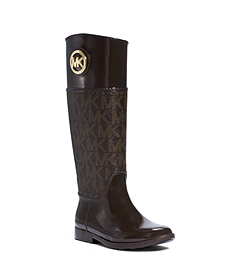 Stockard Logo Rubber Rain Boot