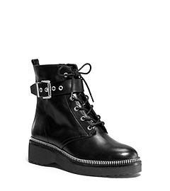 Vivia Leather Ankle Boot