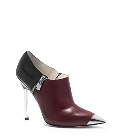 Zady Cap-Toe Leather Ankle Boot