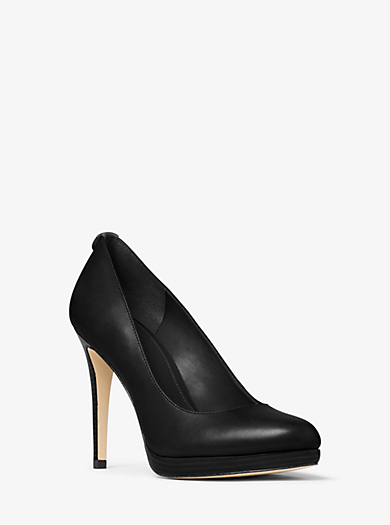 Georgia Leather Pump by Michael Kors