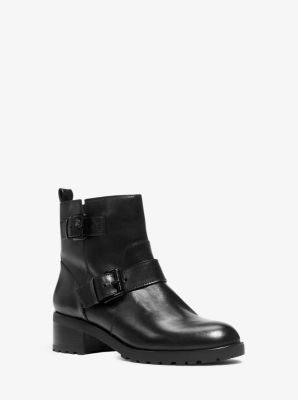 Gretchen Leather Ankle Boot by Michael Kors
