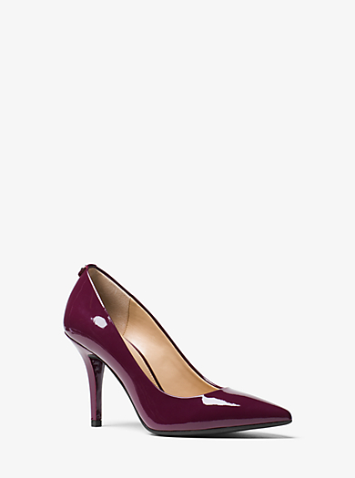 Flex Leather High-Heel Pump by Michael Kors