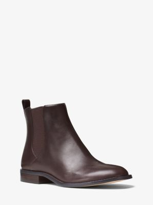Thea Leather Ankle Boot by Michael Kors