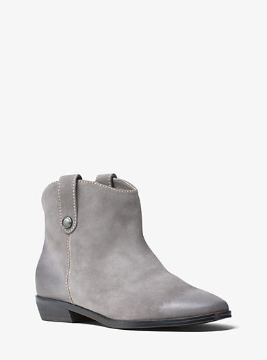 Ashton Suede Ankle Boot by Michael Kors