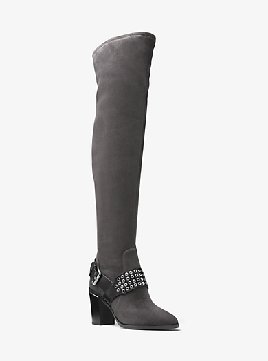 Brody Over-The-Knee Suede Boot by Michael Kors