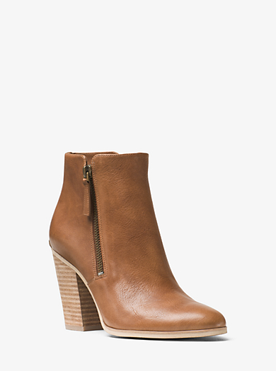 Denver Leather Ankle Boot by Michael Kors