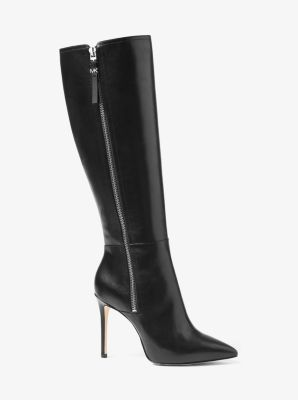 Dawson Leather Boot by Michael Kors