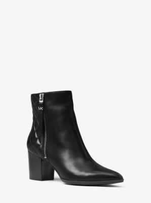 Dawson Leather Ankle Boot by Michael Kors